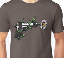 Daisy in Gun Barrel Unisex T-Shirt
