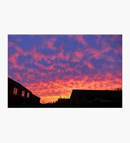 OMG Sunrise Photographic Print