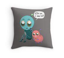 Pet Feature Throw Pillow