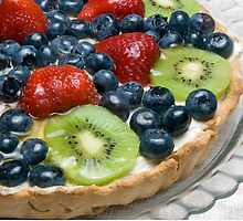 Fruit Tart (Recipe in desciption) by wolftinz
