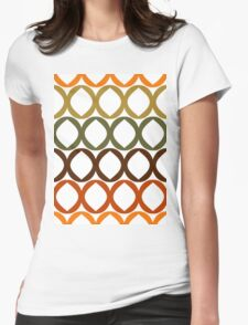 Colorful pattern Womens Fitted T-Shirt