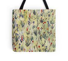 Fantasy field with petals Tote Bag