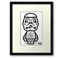 Dumb Trooper Framed Print