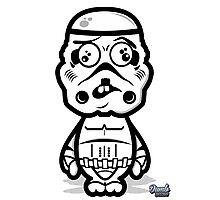Dumb Trooper Photographic Print