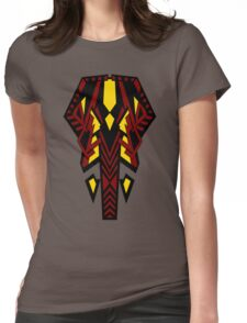 Sphinx Red Womens Fitted T-Shirt