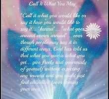 Call It what you May by Sherri     Nicholas