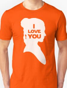 Leia - I Love You T-Shirt