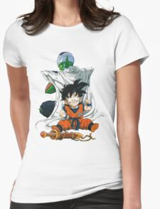Piccolo & Gohan Womens Fitted T-Shirt