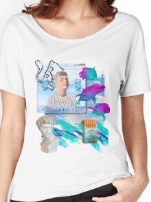 Air World Vaporwave Aesthetics Women's Relaxed Fit T-Shirt