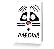Ralph Wiggum Cat Greeting Card