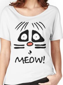 Ralph Wiggum Cat Women's Relaxed Fit T-Shirt