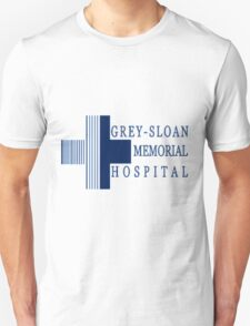 Grey Sloan Memorial Hospital Logo  Unisex T-Shirt