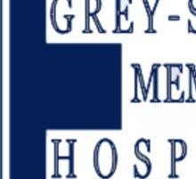 Grey Sloan Memorial Hospital Logo  Sticker