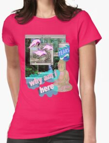 Buddha Vaporwave Aesthetics Womens Fitted T-Shirt