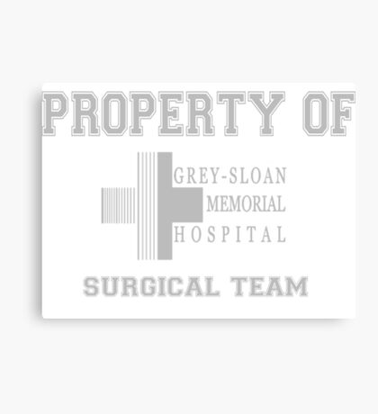 Grey Sloan Memorial Hospital Surgical Team  Canvas Print