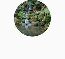 Portland Japanese Garden Waterfall Unisex T-Shirt