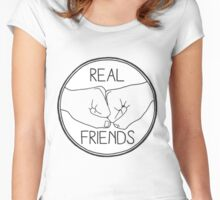 Real Friends Women's Fitted Scoop T-Shirt
