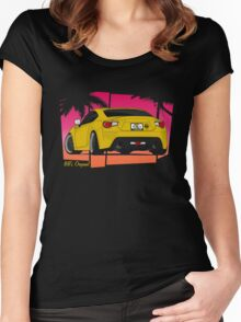 86ZILLA - Yellow(shaded) Women's Fitted Scoop T-Shirt