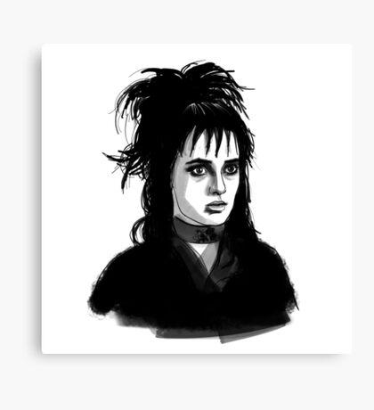 Lydia Deetz Canvas Print