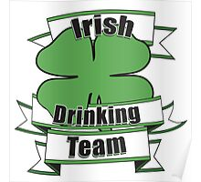 Irish Drinking team Poster
