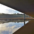 reflection under the bridge  by marxbrothers