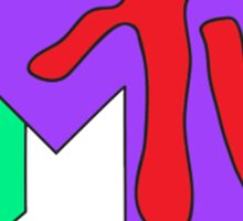 MTV Sticker