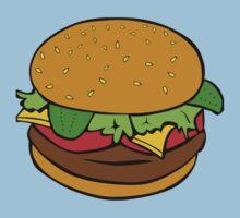 hamburger Kids Tee