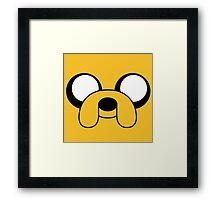 Jake Adventure Time  Framed Print
