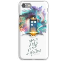 Trip of a Lifetime - TARDIS iPhone Case/Skin