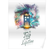 Trip of a Lifetime - TARDIS Poster