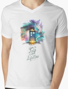 Trip of a Lifetime - TARDIS Mens V-Neck T-Shirt