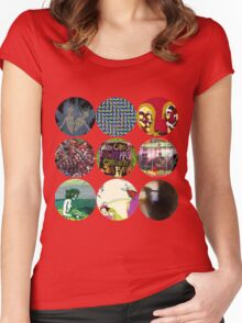 Animal Collective Albums Women's Fitted Scoop T-Shirt