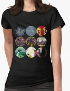 Animal Collective Albums Womens Fitted T-Shirt
