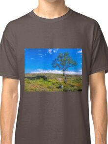 Landscape with a lonely tree Classic T-Shirt