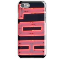 Neon Sign - Hot iPhone Case/Skin
