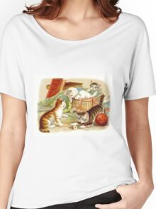 Kittens Playing Women's Relaxed Fit T-Shirt