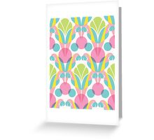 Pink Macaw Greeting Card