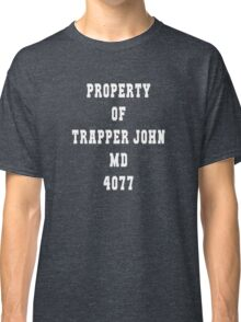 Property of Trapper Classic T-Shirt