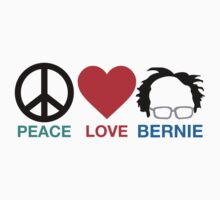 Peace,Love,Bernie by darkshiness