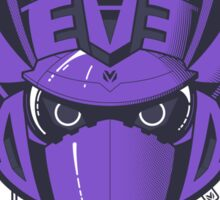 Decepticon Logo / Soundwave (solid color) Sticker
