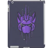 Decepticon Logo / Soundwave (solid color) iPad Case/Skin