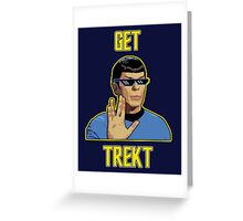 Get Trekt Greeting Card