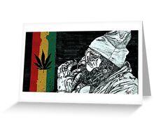 Smoke weed everyday Greeting Card