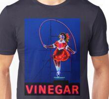 Neon Sign - Vinegar Girl Jump Rope Unisex T-Shirt