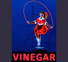 Neon Sign - Vinegar Girl Jump Rope Unisex T-Shirt