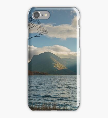 Last light on Fleetwith Pike Buttermere English Lake District iPhone Case/Skin
