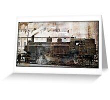 steam locomotive 93.1446  Greeting Card