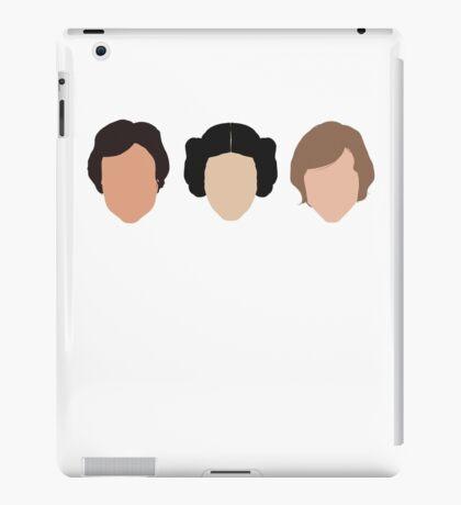 Han, Leia, Luke iPad Case/Skin