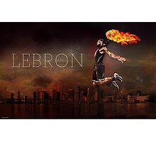 Lebron Photographic Print