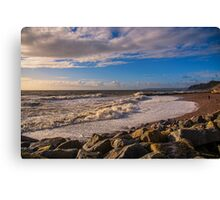 Bridport Harbour Dorset Canvas Print